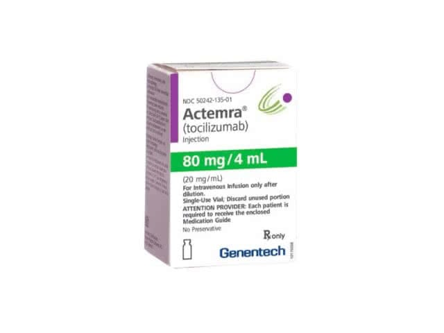 Actemra 80mg/4mL