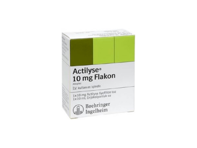 Actilyse 10 mg Flakon