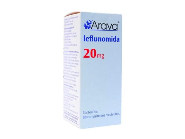 Arava 20 mg Tablet