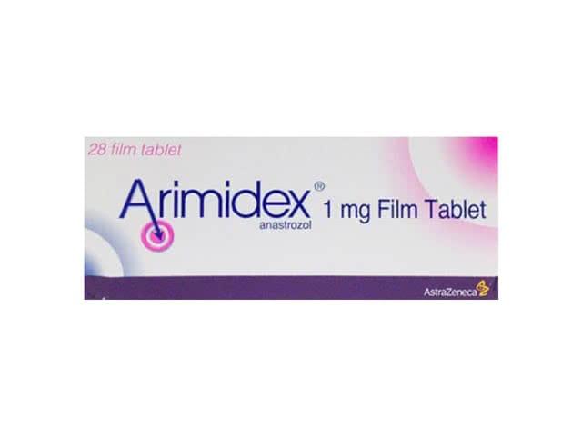 Arimidex 1 mg é um comprimido