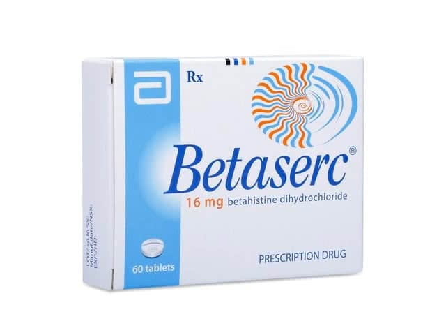 Betaserc 16 Mg Pera Pharmaceutical Warehouse