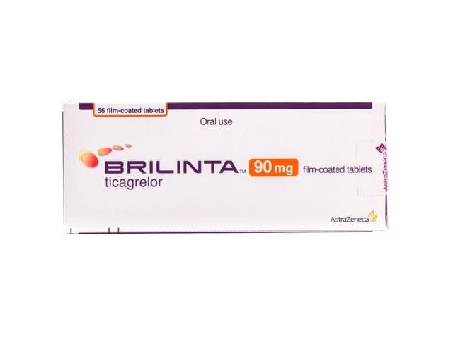 Брилинта 90 мг Пленочная таблетка