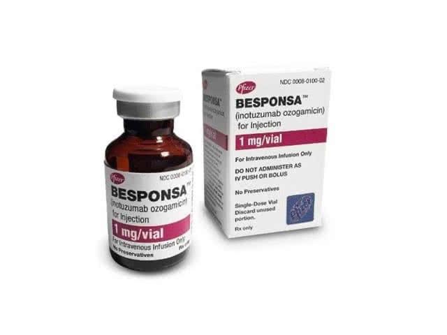 Besponsa (Inotuzumab Ozogamicin) 1mg/vial