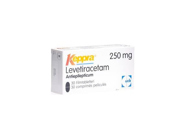 Keppra 250 mg Film Tablet