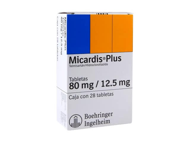 Micardis Plus 80 mg / 12,5 mg