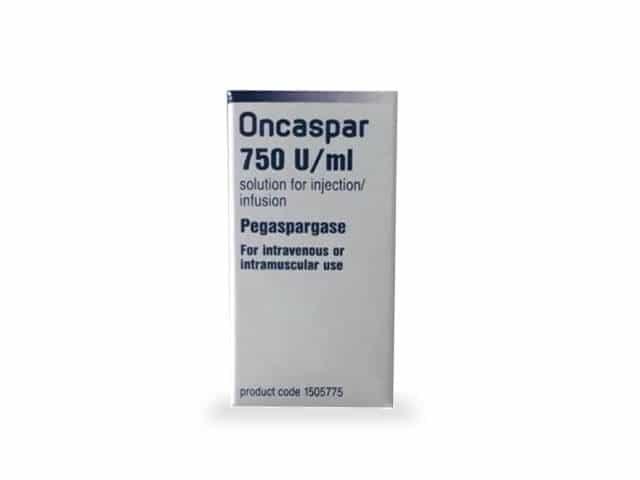 Онкспар (Пегаспаргаз) 750 МЕ/мл
